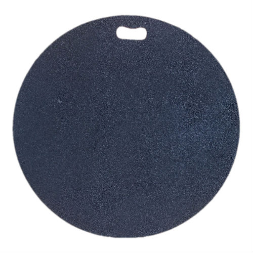 Round pad for a patio heater